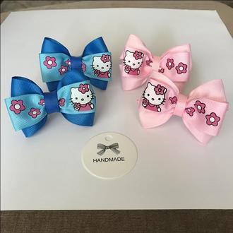Бантики з Hello Kitty на м'якій еластичній резиночці