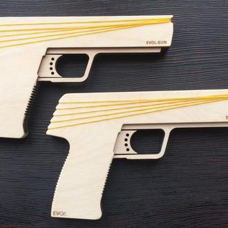 Пистолет. Пистолет - резинкострел