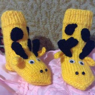 носочки-жирафики