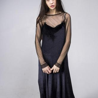 Платье Velvet Dress Maxi