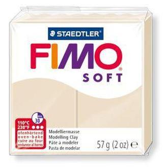 Пластика Soft, мягкая, Сахара (70), 57г, Fimo