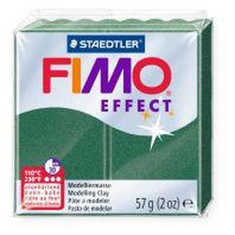 Пластика Effect, Зеленая полупрозрачная (504), 57г, Fimo