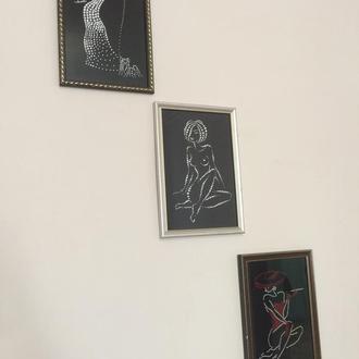 Картины стразами ручной работы