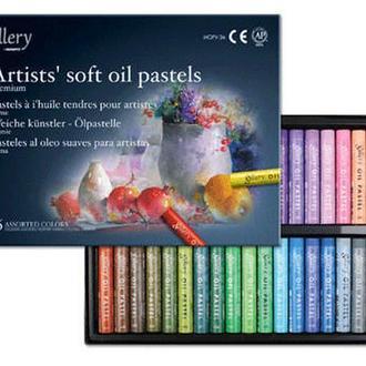 Набор масляной пастели Mungyo MOPV-36 мягкая 36 цветов