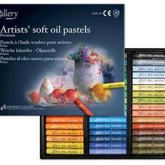 Набор масляной пастели Mungyo MOPV-48 мягкая 48 цветов