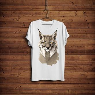 Lynx woman's T-shirt (Футболка женская Рысь)