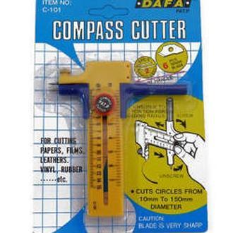 Нож макетный DAFA для круговых прорезов C-101 d10-150мм