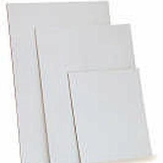 Картон грунтованный, 15x15см, набор 5 шт, 3мм, акриловый грунт, Этюд