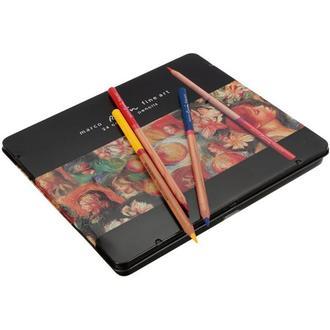 Набор цветных карандашей 48цв. , метал, FineArt, Marco