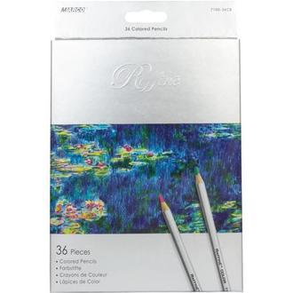 Набор цветных карандашей Marco Raffine 36 цветов картон