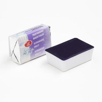 Краска акварельная Белые Ночи Ультрамарин фиолетовый кювета