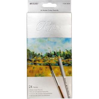 Набор акварельных карандашей Marco Raffine 24 цвета картон