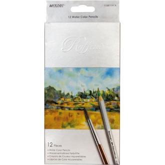 Набор акварельных карандашей Marco Raffine 12 цветов картон