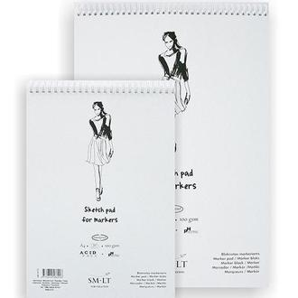 Альбом для маркеров Smiltainis Authentic A4 (21х29.7см) 100 г/м2 50 листов (4770644586906)