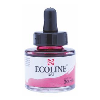Краска акварельная с пипеткой, Розовая свет. (361), Ecoline, 30 мл, Royal Talens