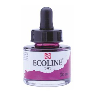 Краска акварельная с пипеткой, Красно-фиолетовая (545), Ecoline, 30 мл, Royal Talens
