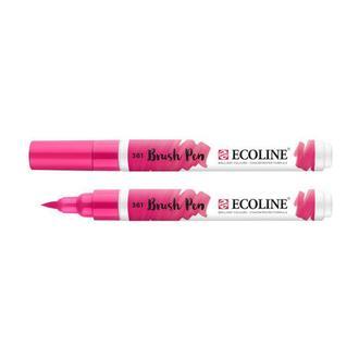 Маркер акварельный кисточный Ecoline Brushpen Розовая светлый (361)