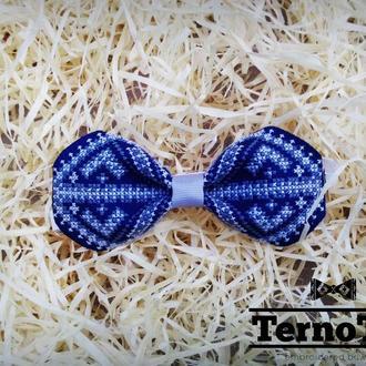 Метелик чоловічий Men bow tie (Ручна робота. Вишивка) #007