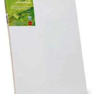 Холст на подрамнике, 50x70см, мелкое зерно, акриловый грунт, хлопок, Этюд
