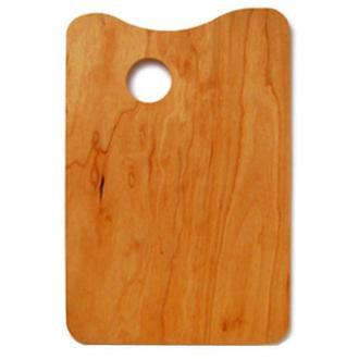 Палитра деревянная прямоугольная, 30х40см