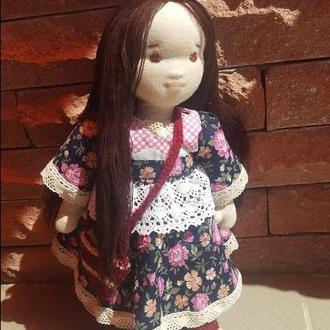 Вальдорфская кукла Лиза
