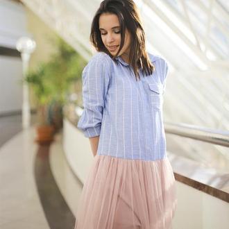 Платье-рубашка Shirt Airskirt (long)