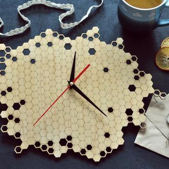 """Настенные часы """"Honeycombs"""""""