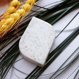 Натуральное мыло с ромашкой и лавандой🍀