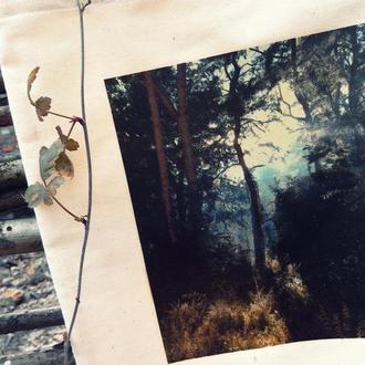 """Сумка торба з принтом """"Ліс ліс ліс"""""""