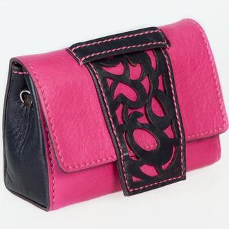 Поясная сумка  из натуральной кожи Premium.