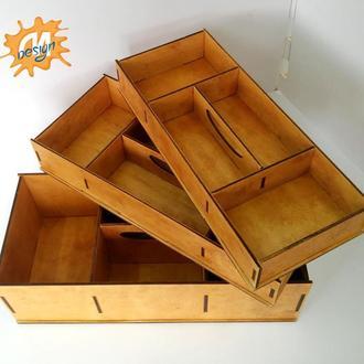 Органайзер для хобби, рукоделия, ящики для рукоделия