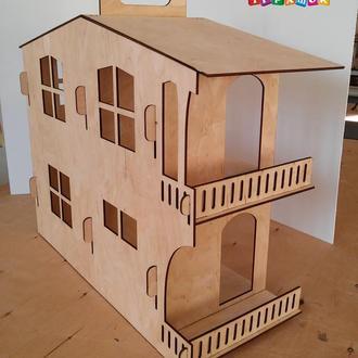 Кукольный домик из фанеры. Разборный.