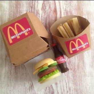Набор «вкусного» мыла Macdonalds