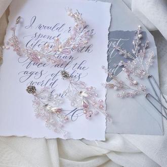 Свадебный набор украшений для невесты