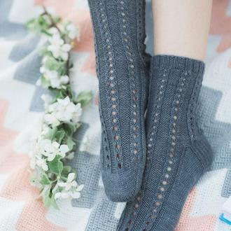 Вязаные носочки. Хюге-носки. Кашемировые носки (в наличии)
