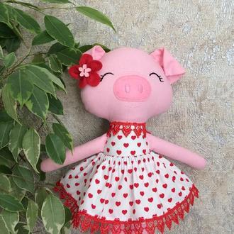 Игрушка сплюшка «Свинка»