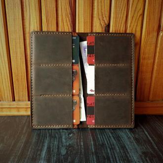 Кожаный портмоне.