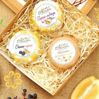 Подарочный набор джемы и мед