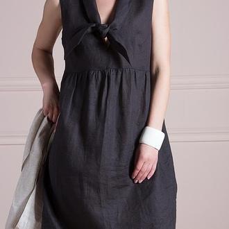 Платье - галстук