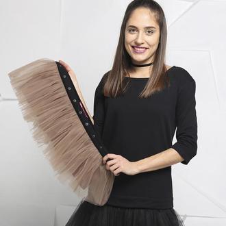 Комплект платье-трансформер Airdress (черный верх + 2 съемные юбочки: черная и латте или на выбор)