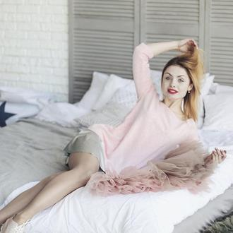 Комплект платье-трансформер Airdress (розовый верх + 2 съемные юбочки)