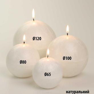 Натуральные свечи ШАРЫ