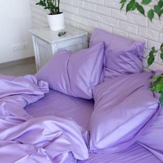 Постільна білизна із однотонного сатину Lilac
