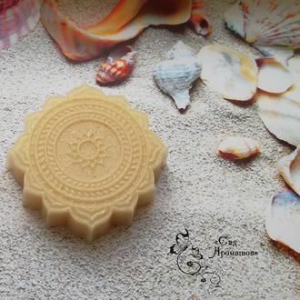 Мыло - пилинг для глубокого очищения с белой глиной