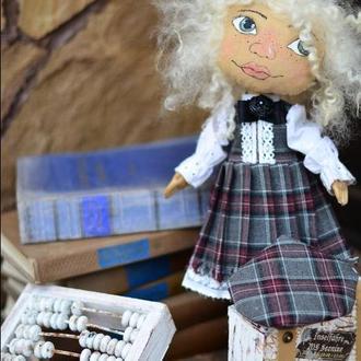 Кукла ручной работы  Кукла Текстильная  Кукла ХендМейд Игрушка из Ткани Ароматизированая Кукла