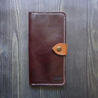 Кожаный кошелёк. Женский кошелёк. Кожаный портмоне. Кошелёк для девушки.