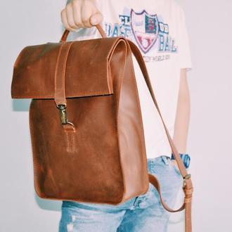 """Кожаный рюкзак """"Альберто"""""""
