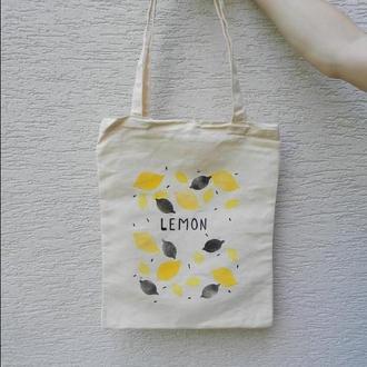 Еко сумка Лимони