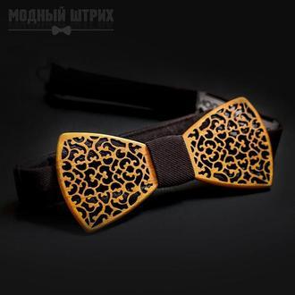 """Детская галстук бабочка из дерева """"EMPIRE"""""""