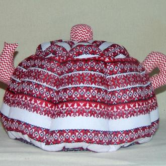 ГРЕЛКА для чайника-заварника КРАСНАЯ